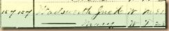 1880 Census - John's age shown
