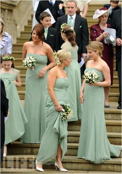 Royal wedding pictures bridesmaids