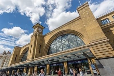 Harry Potter Filming Location London - Kings Cross Station