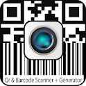 QR and Barcode scanner | QR code generator icon