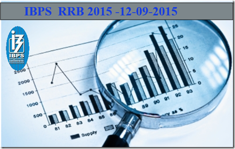 IBPS RRB 2015 - 12-09-2015  Exam Discussion