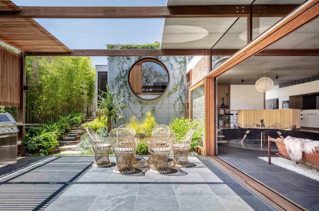 Mẫu thiết kế kiến trúc biệt thự vườn