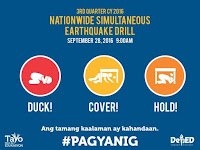National Simultaneous Earthquake Drill 2016
