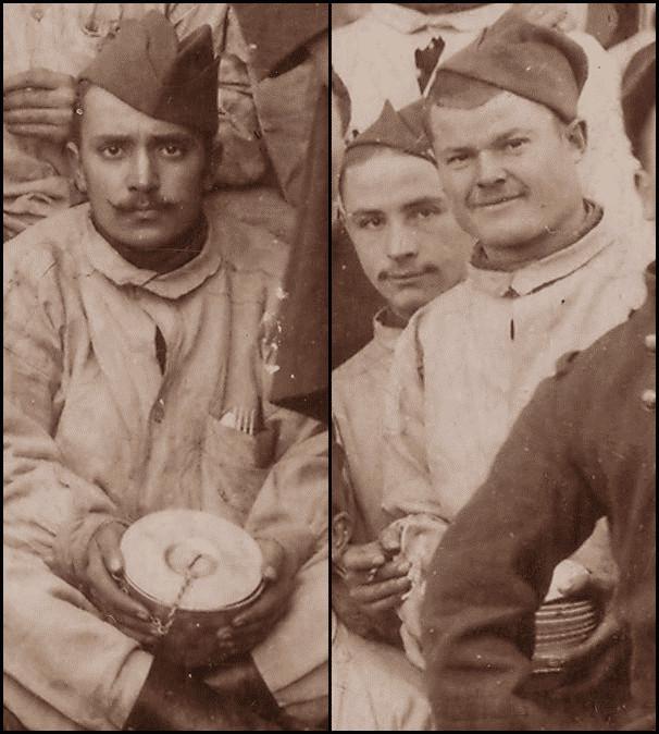 Repr senter et se repr senter la premi re guerre mondiale faire parler les images 1914 1918 - Fourchette a droite ou a gauche ...