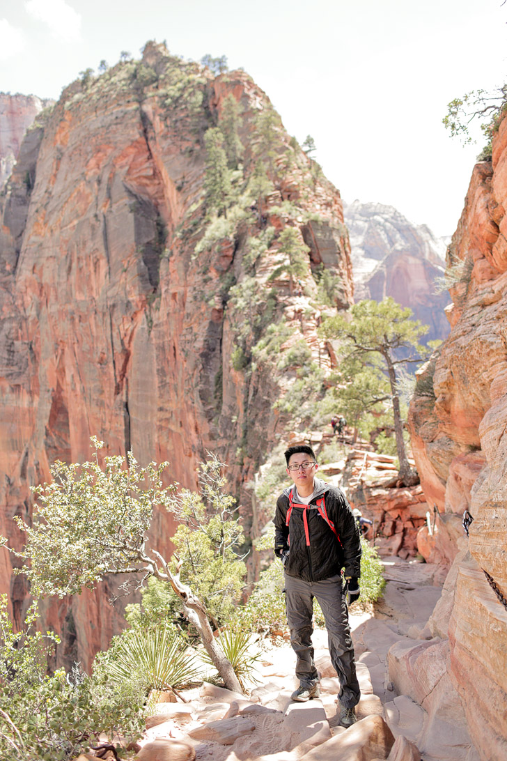 Facing Our Fears At Angels Landing Zion National Park