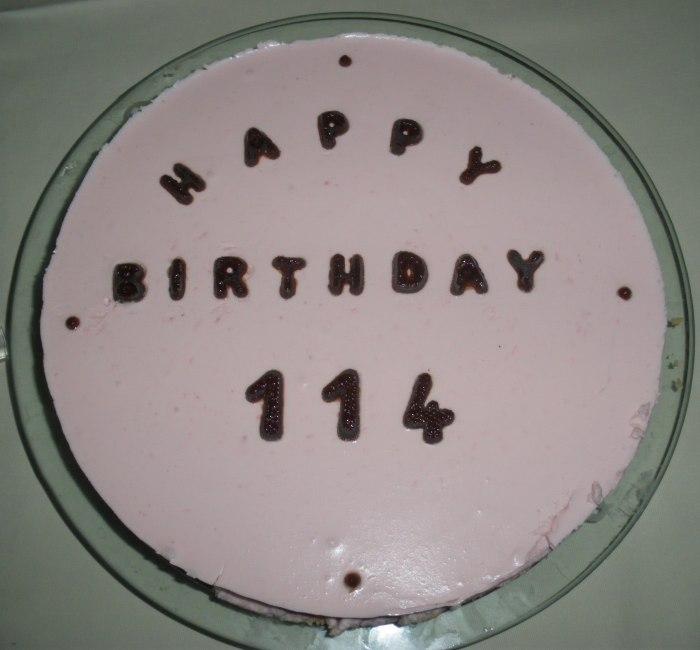 Kuchen mit 114