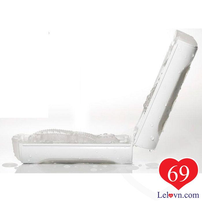 Thiết kế tách đôi sử dụng tiện lợi cho cả vệ sinh và bảo quản