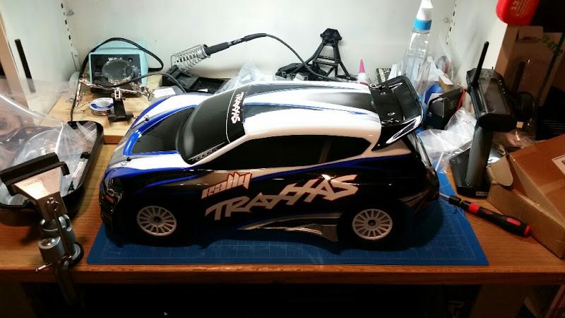 Rcdabbler 39 s first traxxas rally slash 4x4 for Corn motors everett wa