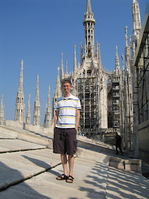 On top of Milan Cathedral