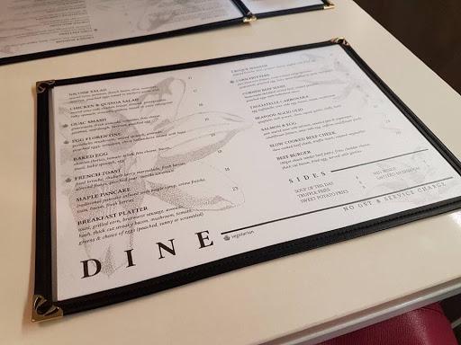 Food menu from Botanist Outram Park