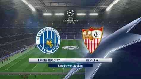 Leicester City vs Sevilla Champions League Match Highlight