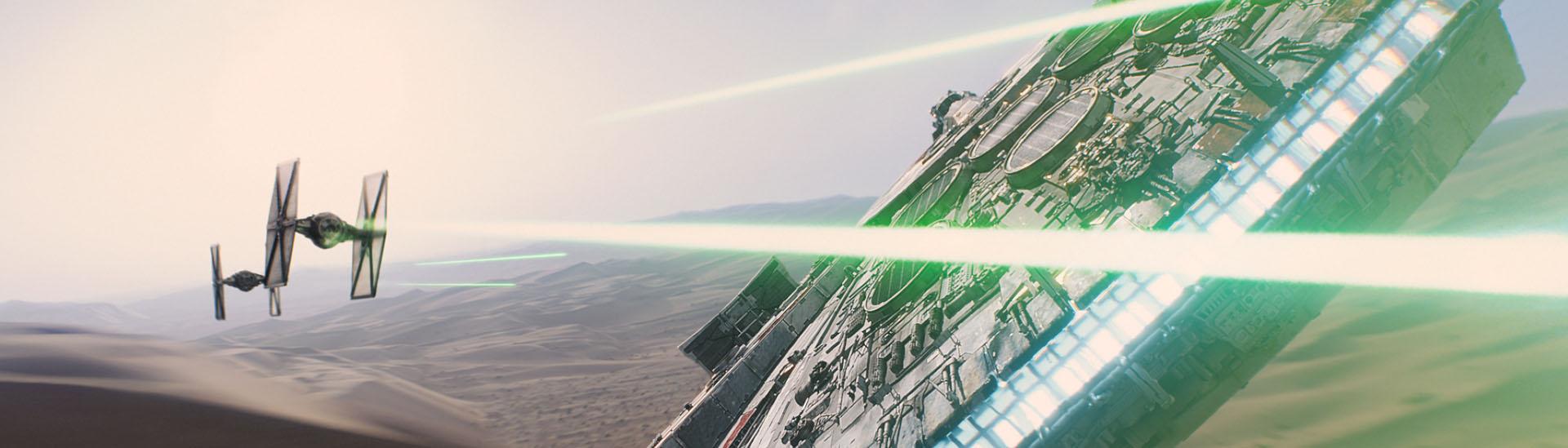 Baner filmu 'Gwiezdne Wojny: Przebudzenie Mocy'