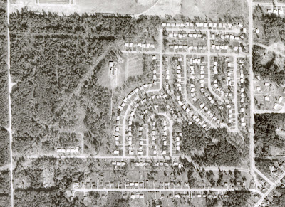 1959 Aerial Photo of Glenayre