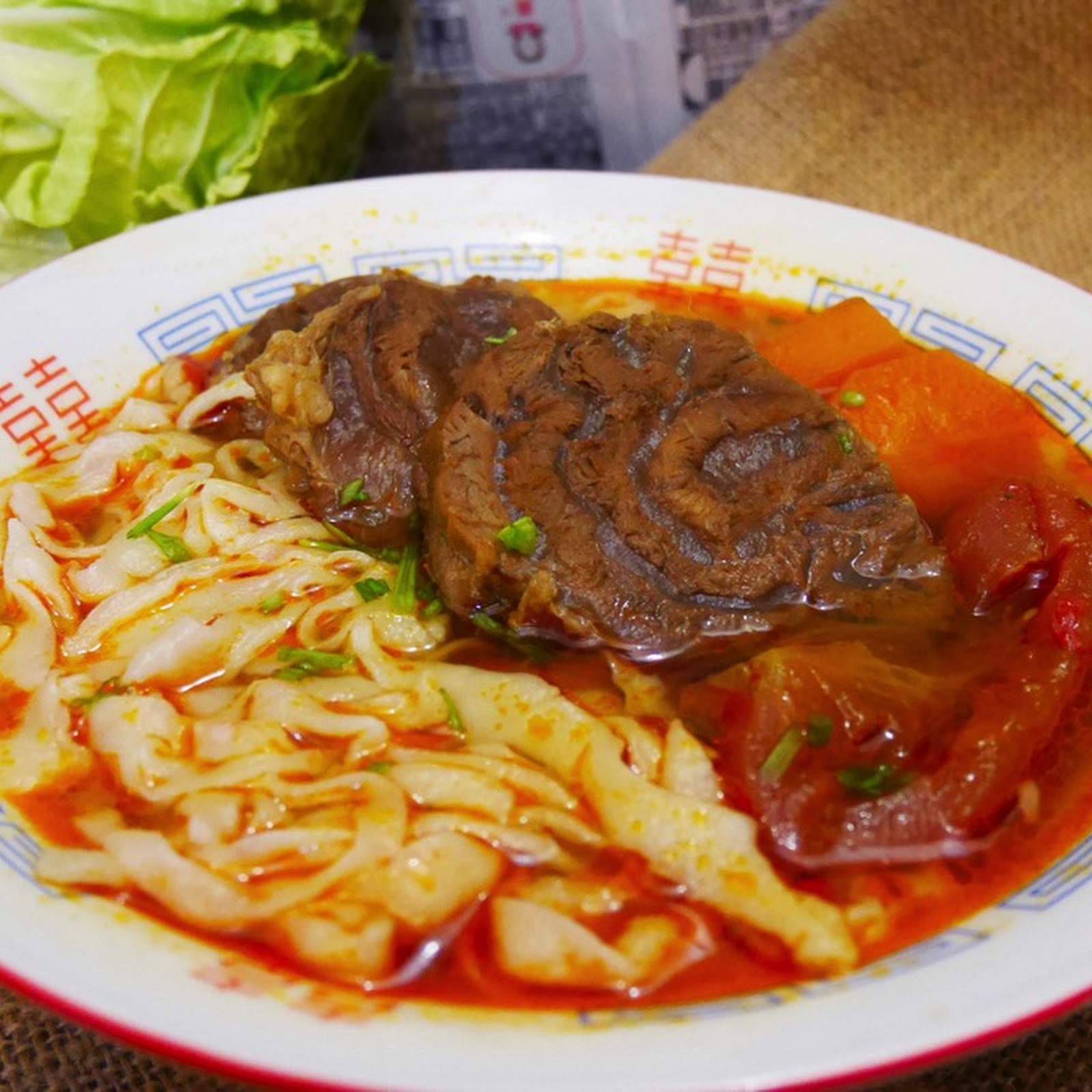 紅燒牛肉麵 Braised Beef Noodle Soup【老娘的草根飯堂OldLady's Kitchen】