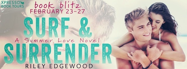 Book Blitz: Surf & Surrender by Riley Edgewood