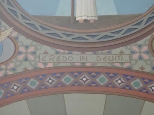"""""""Credo In Deum"""" que significa """"Creio em Deus"""", meditando a Santa Missa"""