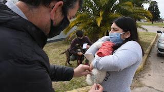 Vacunación contra la rabia