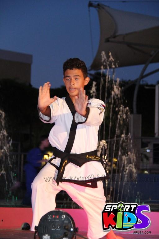 show di nos Reina Infantil di Aruba su carnaval Jaidyleen Tromp den Tang Soo Do - IMG_8671.JPG