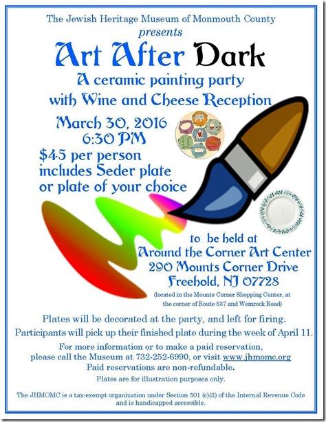Art After Dark Flyer