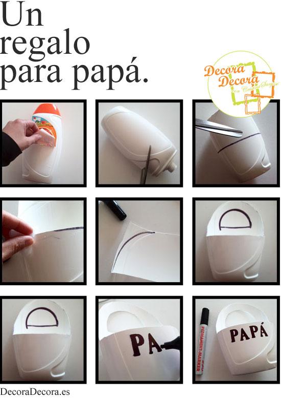 Regalo para padres en el Día del Padre, DIY