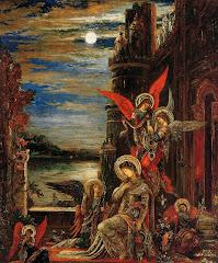 MOREAU Gustave Saint Cecilia , 1897