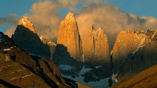 Peaks at Sunrise, Torres del Paine, Patagonia, Chile.jpg