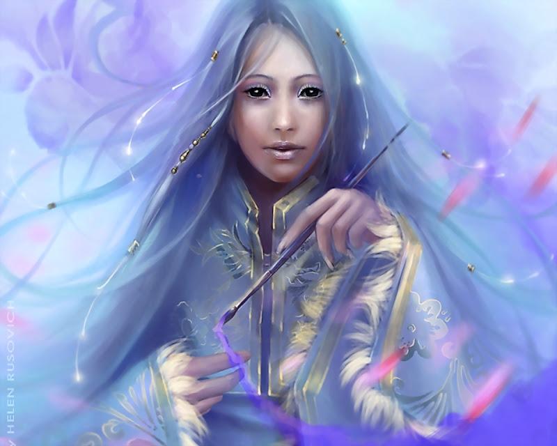 Goddess Painting The World, Goddesses