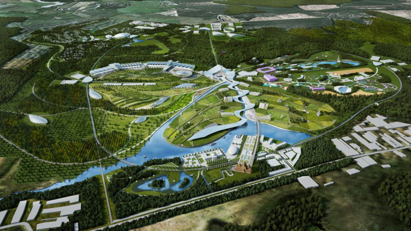 Mosca, Russia: [CUSHMAN & WAKEFIELD CONSORTIUM WINS PARK RUSSIA COMPETITION]