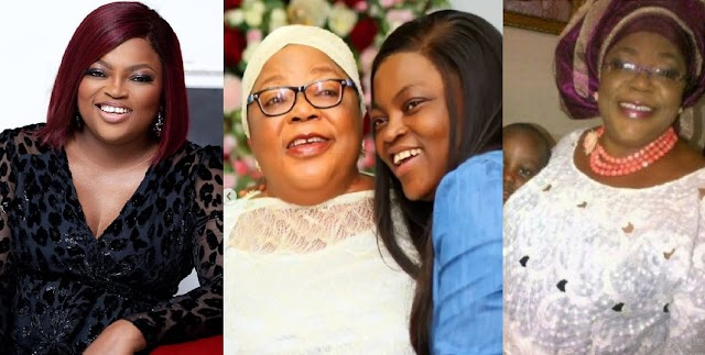 'Your support towards my career has been overwhelming' – Funke Akindele pens down tribute to her mum [Video]