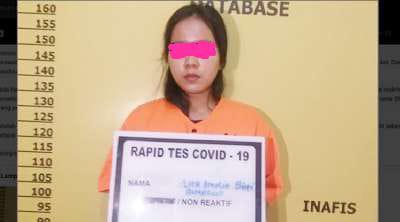 Seorang Wanita Muda Diduga Terlibat TP Perjudian Game Burung Merak Kecamatan Mandau