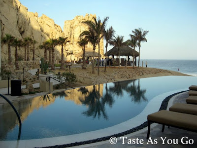 Infinity Pool at Grand Solmar Land's End Resort & Spa in Cabo San Lucas, Mexico - Photo by Taste As You Go