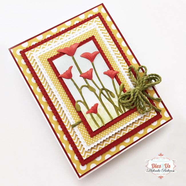 poppy card by melinda2