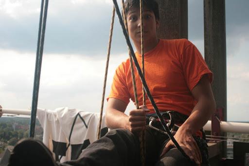 Abseilen Kickin 2009