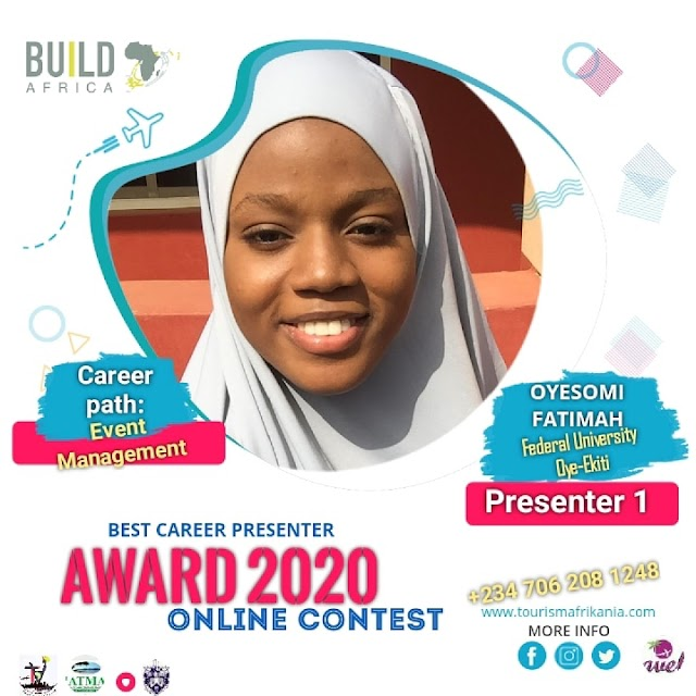 FUOYE Students emerge winners at BUILD AFRIKA CONTEST.