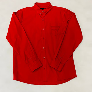 Bianca Chandon NEW Western Button Shirt Red