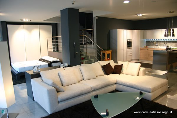 showroom - carminati e sonzognicarminati e sonzogni - Arredamento Moderno Zona Living