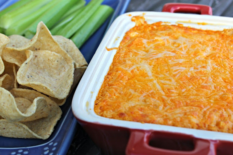 Buffalo Chicken Dip from Views from the Ville