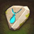下級首飾り強晶石