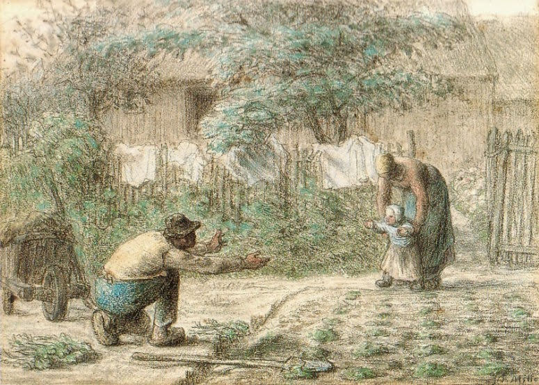 Jean-François Millet - First Steps