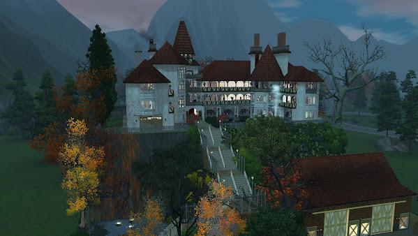 Симс 3: Замок графа Дракулы