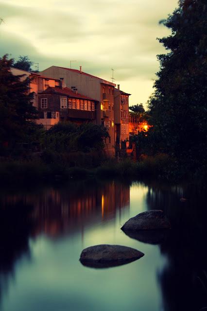 de noite e eu no rio...