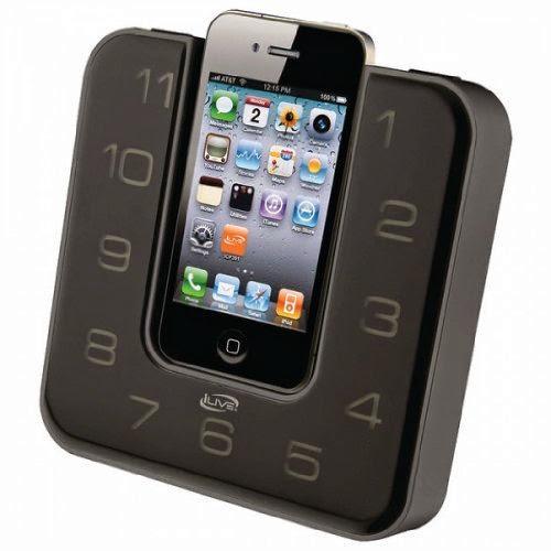 ILIVE iCP391B iPhone(R)/iPod(R) Clock Radio