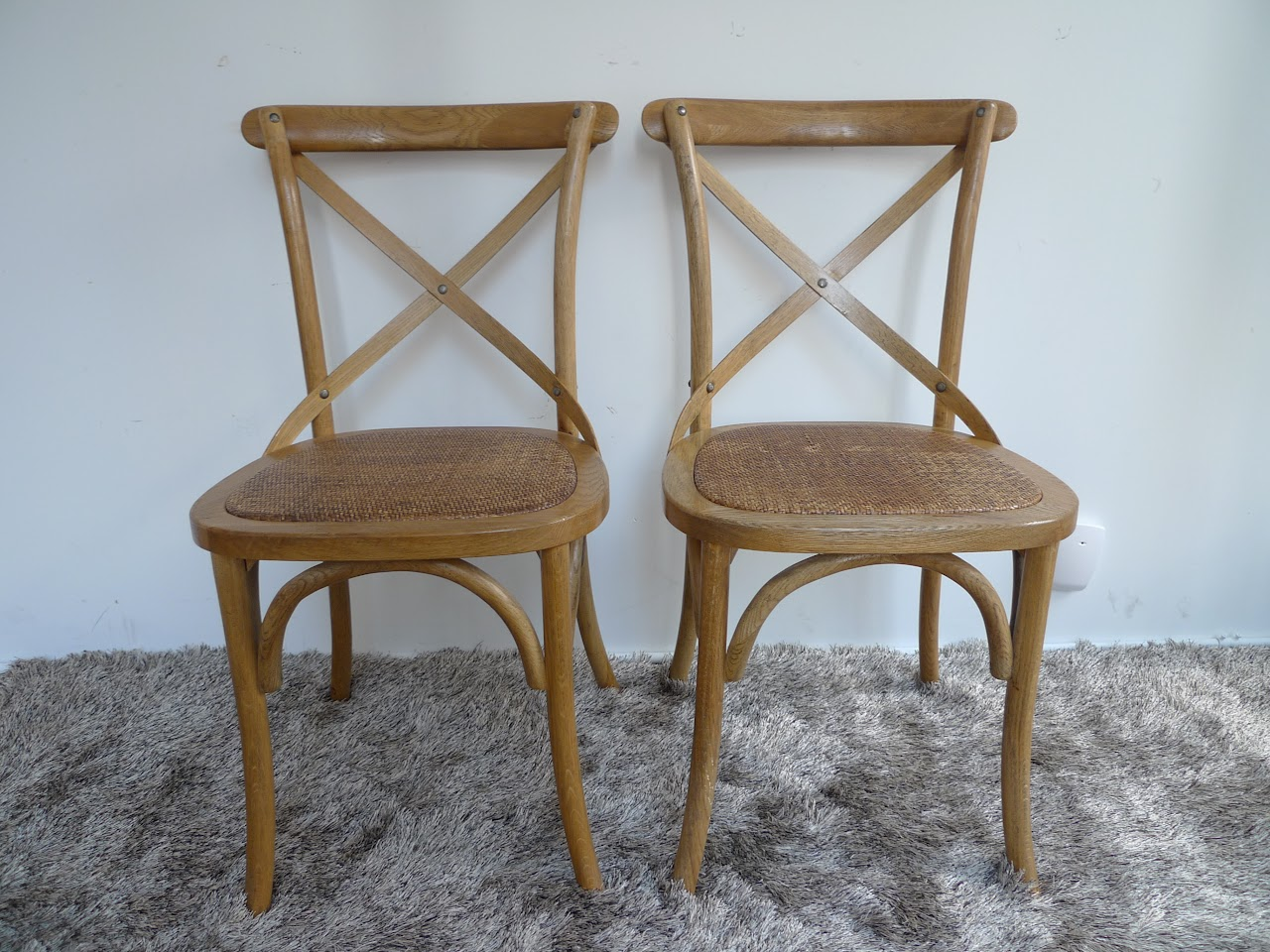 French Heritage Chair Pair