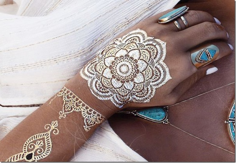 love boho mehndi art