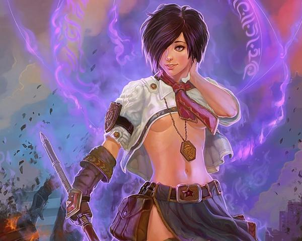 Girl And Spell Of Magic, Magick Warriors 5