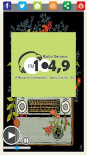 Download Rádio Serrana FM 104,9 For PC Windows and Mac apk screenshot 2