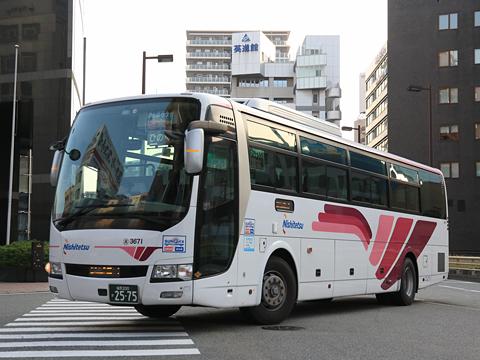 西日本鉄道「ひのくに号」 3671