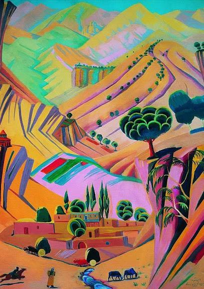 Martiros Saryan - Mottled landscape, 1924