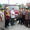 Gandung Pardiman Bantu Truk Untuk atasi Masalah Pengairan Sawah di Srimulyo Piyungan