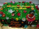 Garden Theme Cakes